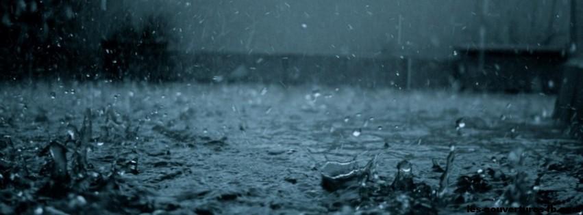 Pluie abondante  Photo de couverture Facebook