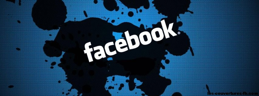 Facebook en biais  Photo de couverture Facebook